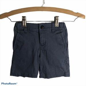 Janie and Jack Blue Boys Khaki Shorts Sz 4